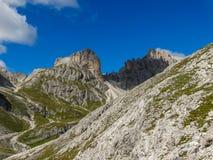 白云岩阿尔卑斯意大利 免版税图库摄影