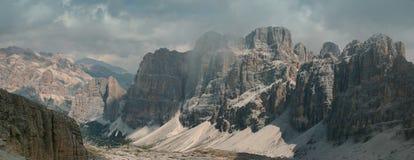 白云岩,意大利 免版税库存照片
