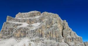 白云岩, Dolomiti di Brenta落矶山脉  库存图片