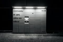 黑白亚马逊的衣物柜 库存照片