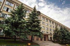 白俄罗斯政府大厦 库存图片