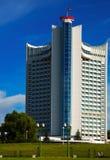 白俄罗斯旅馆在米斯克 免版税库存图片