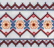 白俄罗斯语国民装饰品。 免版税库存照片