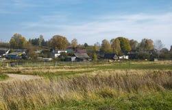 白俄罗斯语村庄 库存图片