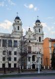 白俄罗斯,天主教会的建筑学 免版税库存图片
