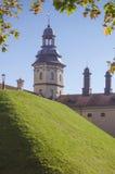 白俄罗斯,涅斯维日:涅斯维日城堡(片段) 免版税库存图片