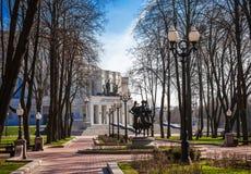 白俄罗斯,米斯克,歌剧院 库存照片