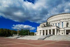 白俄罗斯,米斯克,歌剧院 免版税库存图片