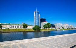 白俄罗斯,米斯克,建筑学 免版税库存图片