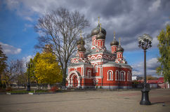 白俄罗斯,鲍里索夫:St Voskresensky正统大教堂 免版税库存图片