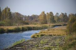 白俄罗斯:小阳春, Vileysko明斯基渠道 库存图片
