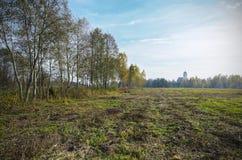 白俄罗斯:秋天自然 库存照片