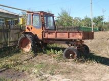 白俄罗斯T16M卸车zsrr 免版税库存照片