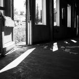 黑白光 库存图片