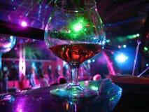 白兰地酒晚上 库存图片