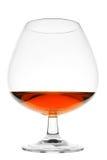 白兰地酒玻璃酒杯 库存图片