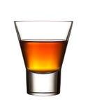 白兰地酒玻璃 库存照片