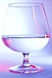 白兰地酒的玻璃 免版税图库摄影