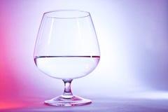 白兰地酒的玻璃 免版税库存照片