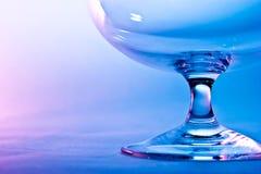 白兰地酒的玻璃 库存图片