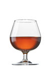 白兰地酒科涅克白兰地玻璃 免版税库存照片