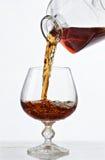 白兰地酒 免版税库存照片