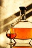 白兰地酒 库存图片
