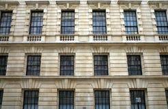 白厅Windows 免版税库存图片
