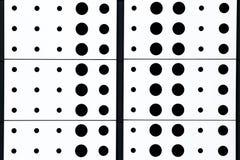 黑白圆点样式背景 库存图片