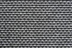 黑白地毯纹理 库存图片