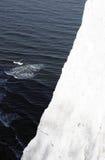 白垩岩石和海 免版税库存图片