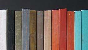 白垩柔和的淡色彩 免版税库存图片