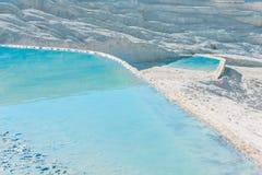 白垩纪水池在美好的旅游地方 免版税图库摄影