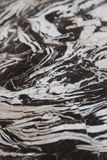 黑白大理石 库存图片