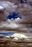 白天可怕天空 免版税库存照片