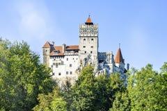 白天对麸皮城堡的夏天视图 免版税库存照片