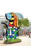 白天江边演播室新加坡 图库摄影