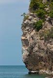 白天海岛 免版税图库摄影