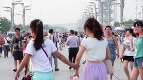 白天的北京奥林匹克公园 HD 影视素材