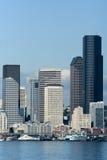 白天西雅图 免版税库存照片