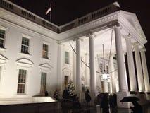 白宫北部门廓 免版税库存图片