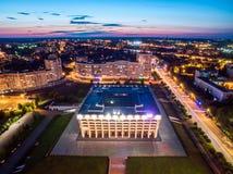 白宫在弗拉基米尔,俄罗斯 免版税库存图片