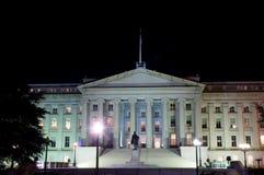 白宫在晚上 免版税图库摄影