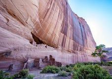 白宫废墟在Canyon de Chelly -使看法环境美化 库存照片