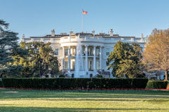 白宫的南草坪华盛顿特区的 免版税库存图片