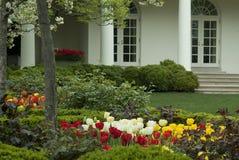 白宫西方Wing1 免版税库存图片