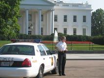 白宫警察 库存照片