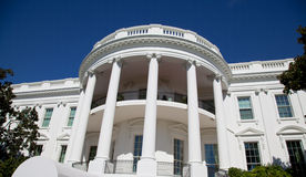 白宫详细资料 库存图片