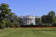 白宫,华盛顿特区,美国 图库摄影