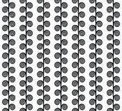 黑白小条 免版税库存照片